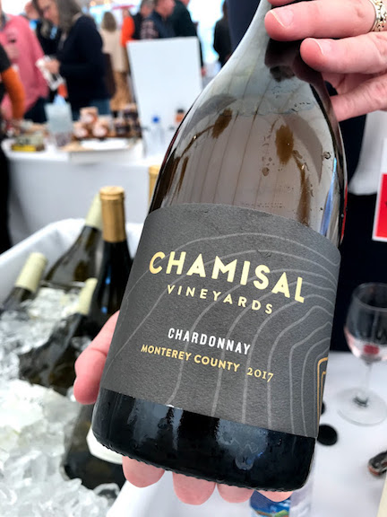 Chamisal Chardonnay Monterey County 2017 - Featured At Grand Tasting Martha's Vineyard Food & Wine Festival