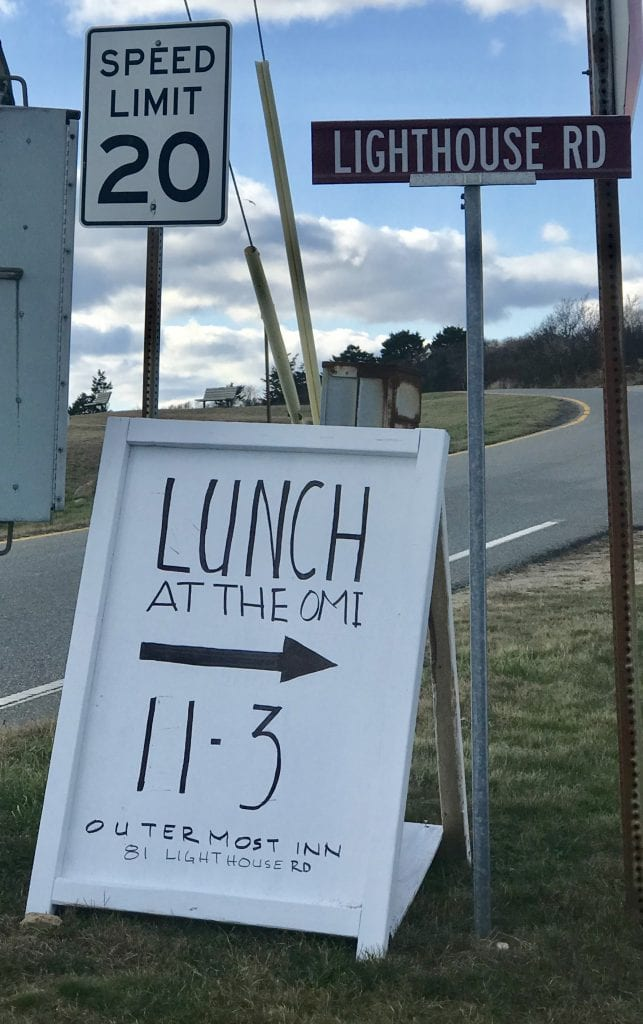 Lunch At The Outermost Inn A New Fall Dining Out Experience On Martha's Vineyard