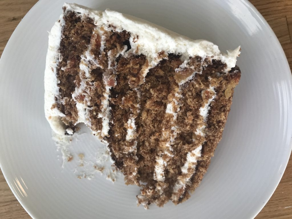 Seven Layer Carrot Cake Served At Lunch At The Outermost Inn Martha's Vineyard Dining Our Aquinnah