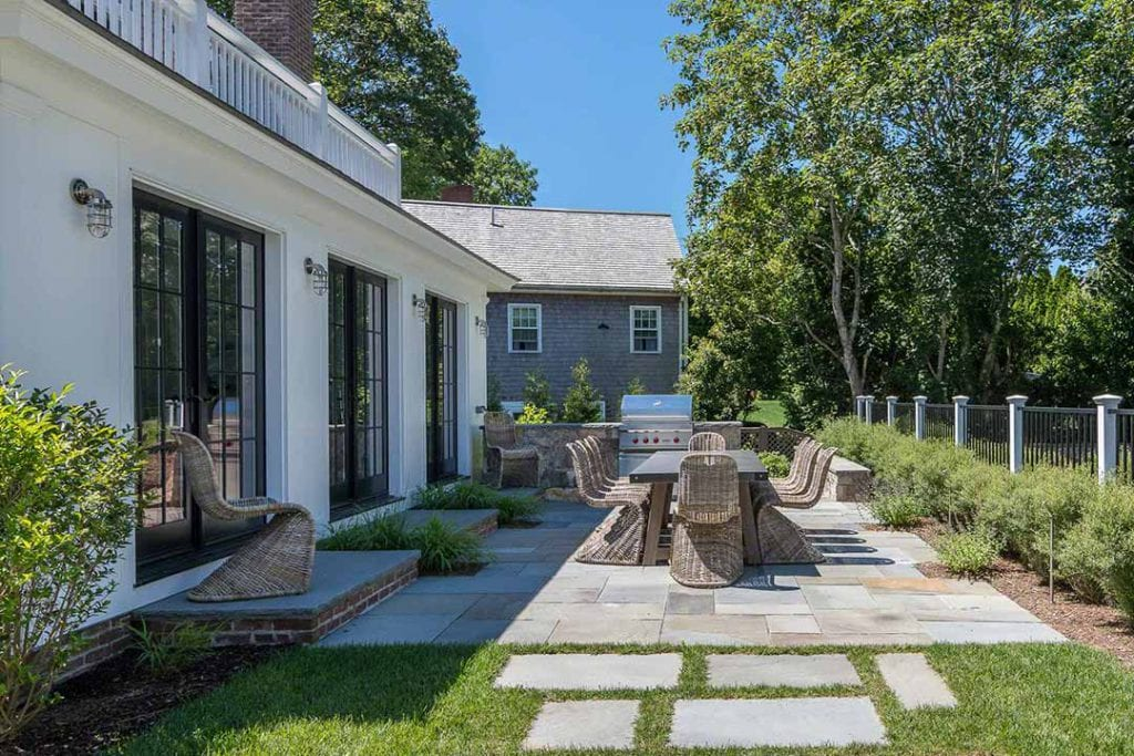 Martha's Vineyard Luxury Vacation Rentals Edgartown Village Modern Farmhouse With Pool Point B Realty Exclusive Listing EDG BVEL-96