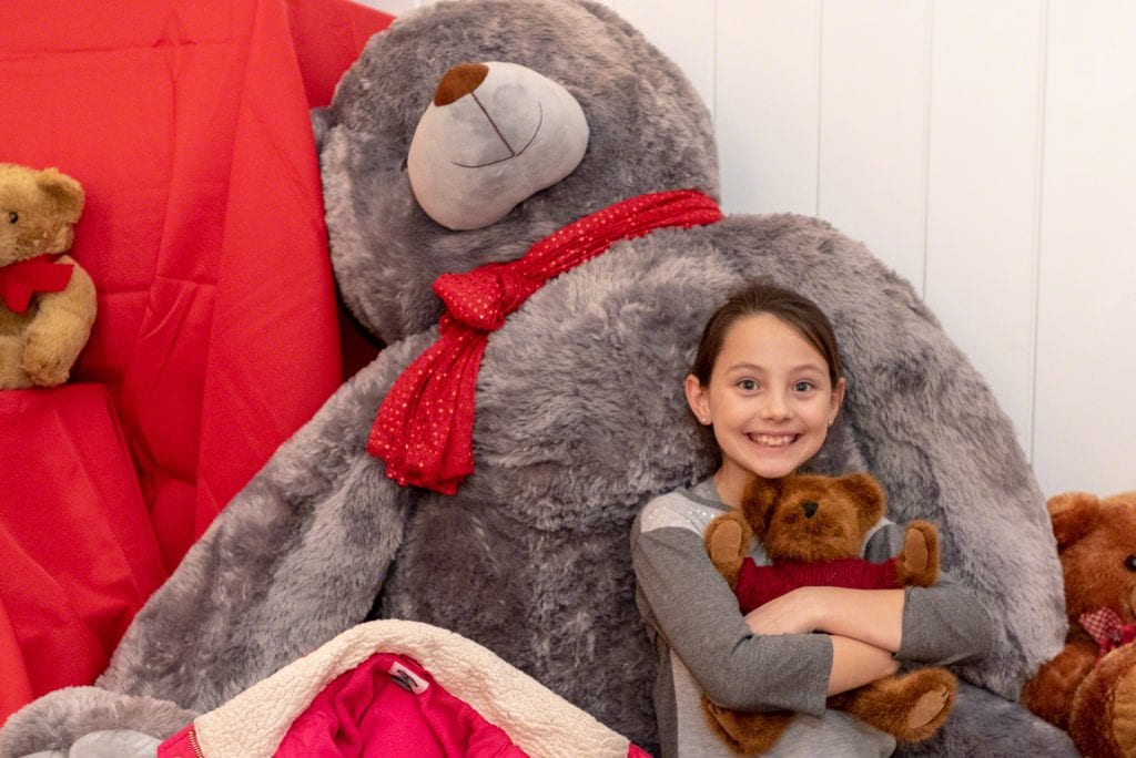 Martha's Vineyard Teddy Bear Suite Fundraiser Supports Healthy Happy Kids After School Food Program. Donate Now