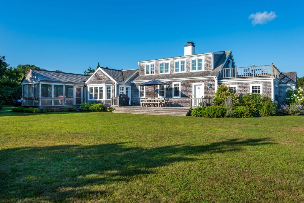 55 Kings Point Way Edgartown MA 02539 Martha's Vineyard Waterfront Home For Sale Point B Realty Exclusive Listing