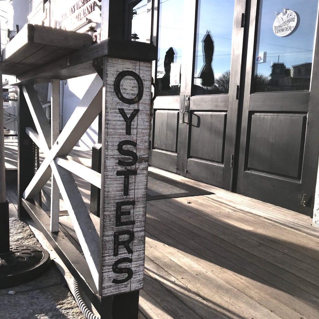 Frugal Foodie Alert Oyster Night On Martha's Vineyard - MV Chowder Company in Oak Bluffs