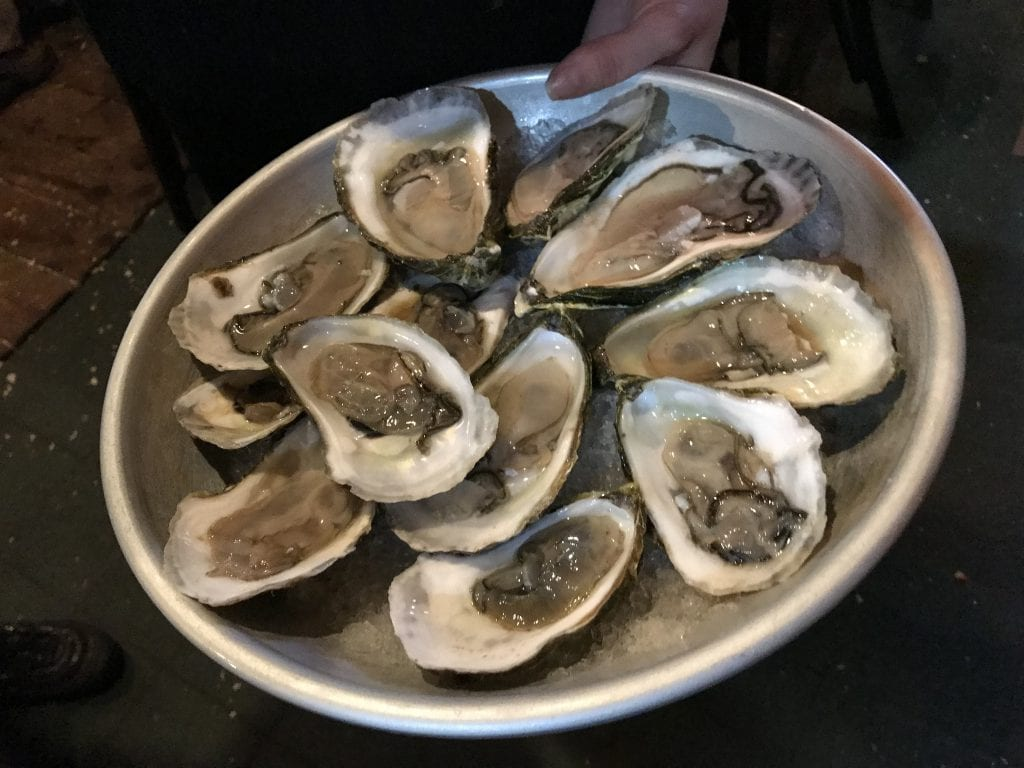 Frugal Foodie Alert Oyster Night On Martha's Vineyard Offshore Ale Company $1 Oysters Oak Bluffs Seafood Restaurant