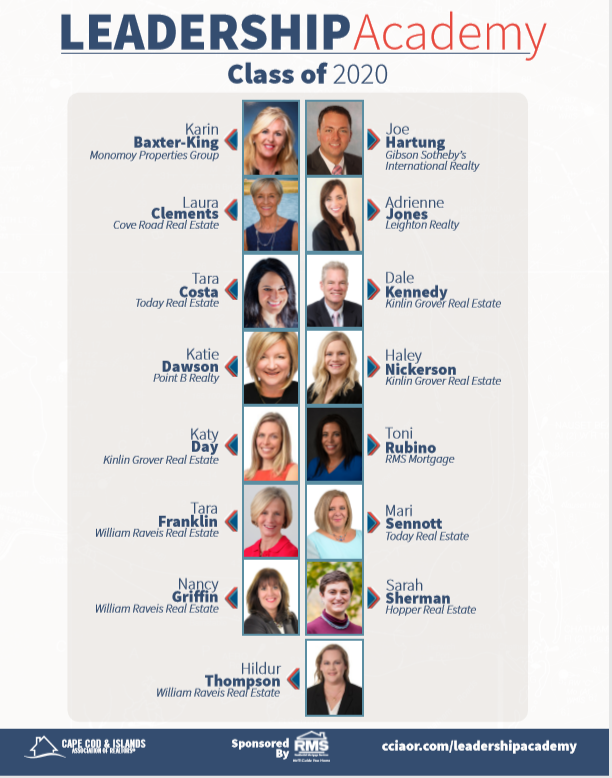 Cape Cod & Islands Association of  Realtors Names Point B Agent Katie Dawson To The Leadership Academy