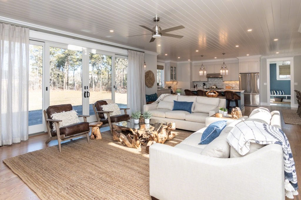 Martha's Vineyard Vacation Rentals Edgartown 4th of July Rental  Summer 2020 - Katama Farmhouse with Pool and hot tub  Point B Realty