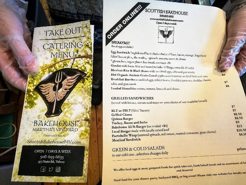 Takeout Options On Martha's Vineyard During The Pandemic Scottish Bake House