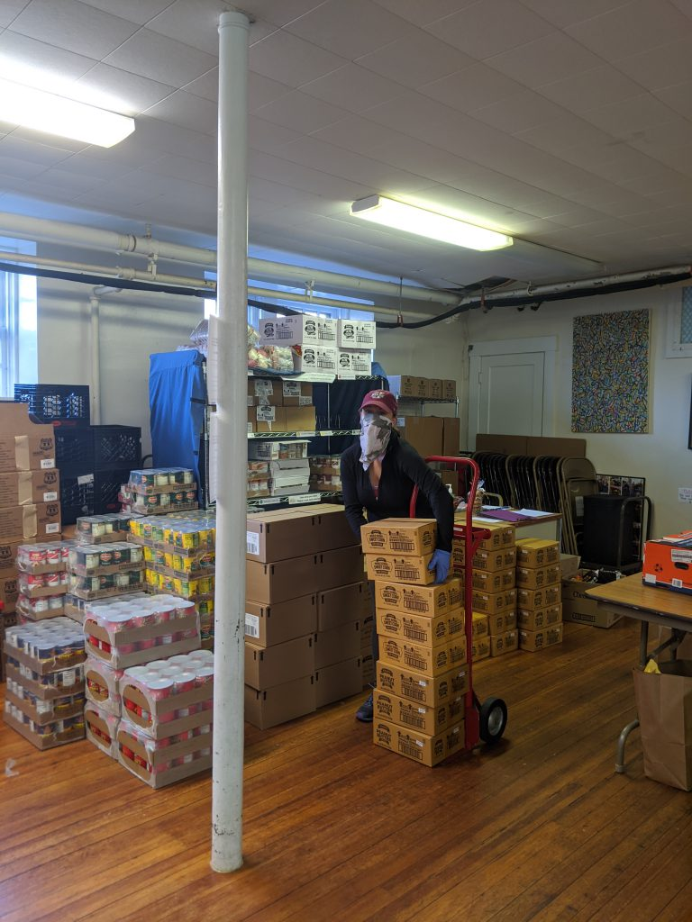 Martha's Vineyard Island Food Pantry Facing Unprecedented Demand As Food Insecurity Increases During Pandemic