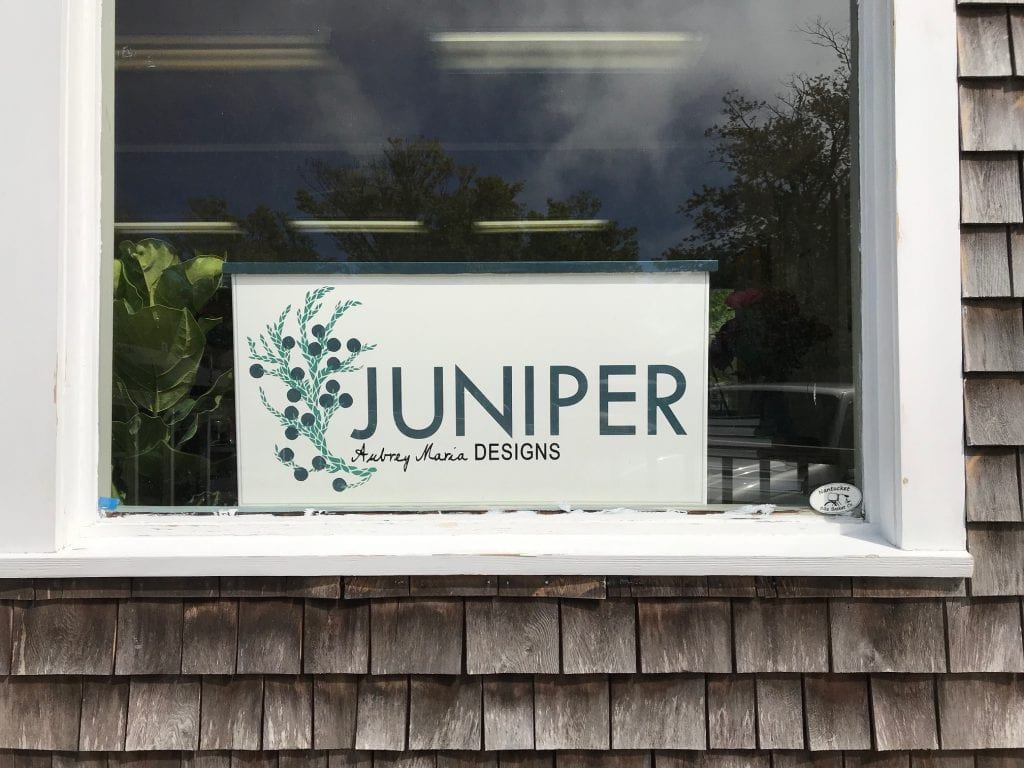 Juniper From Aubrey Maria Designs In Edgartown Opens For The Season Featuring Local Artist, Artwork & Products on Martha's Vineyard - We Love MV