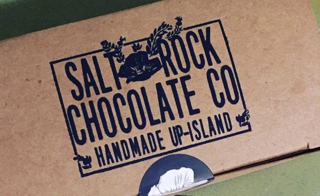 Salt Rock Chocolate Handmade Martha's Vineyard Chocolates At Juniper in Edgartown We Love V