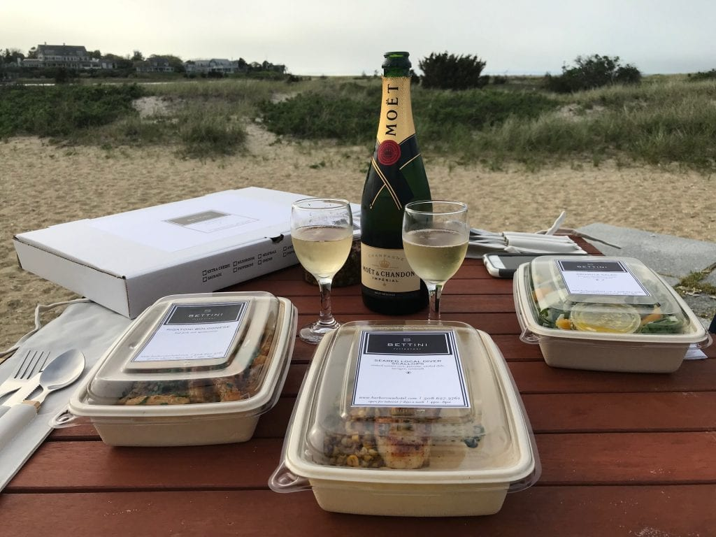 WE LOVE MV: Celebrating A Special Occasion With Takeout Food From Bettini Restaurant On Martha's Vineyard