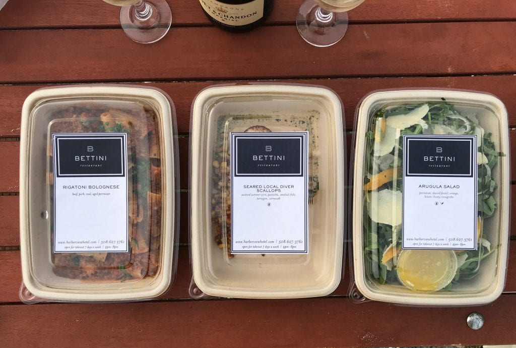 We Love MV: Special Occassion Takeout Food From Bettini Restaurant Harbor View Hotel Edgartown