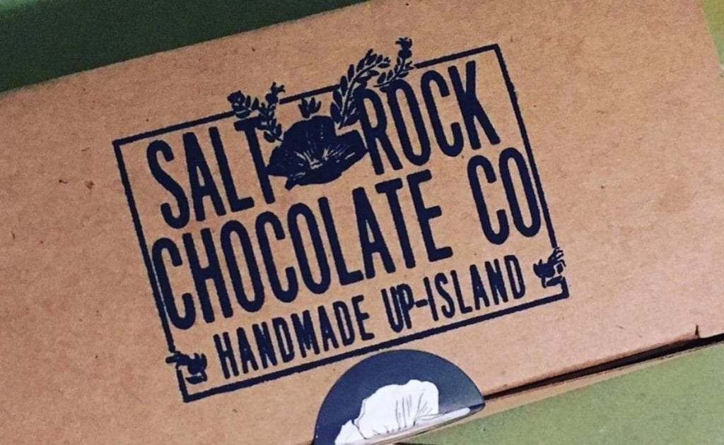 WE LOVE MV Salt Rock Chocolate Company Martha's Vineyard