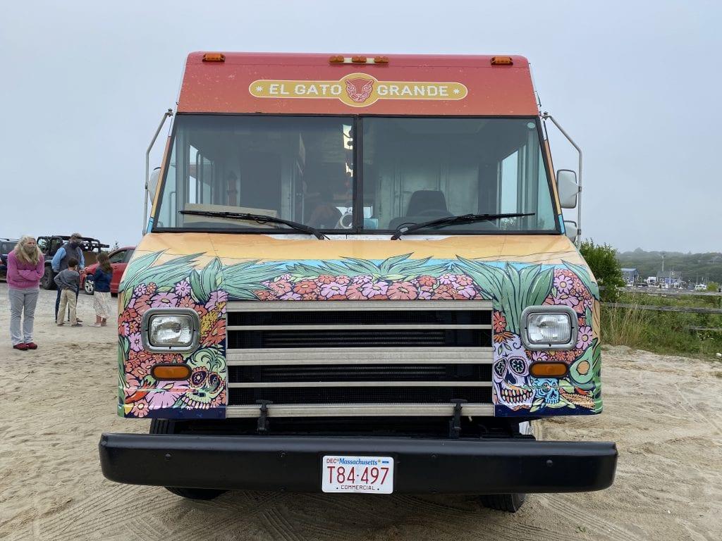 El Gato Grande Food Truck From Chef Spring Sheldon On Martha's Vineyard