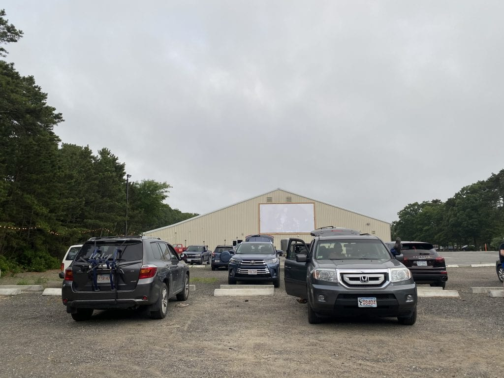 WE LOVE MV: Drive-In Movies Come To Martha's Vineyard Are Hosted At The Ice Arena