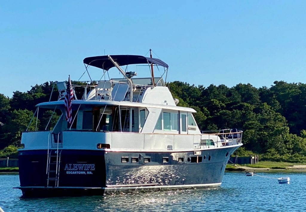 WE LOVE MV: Experiencing Martha's Vineyard Aboard The Vintage Luxury Yacht Alewife