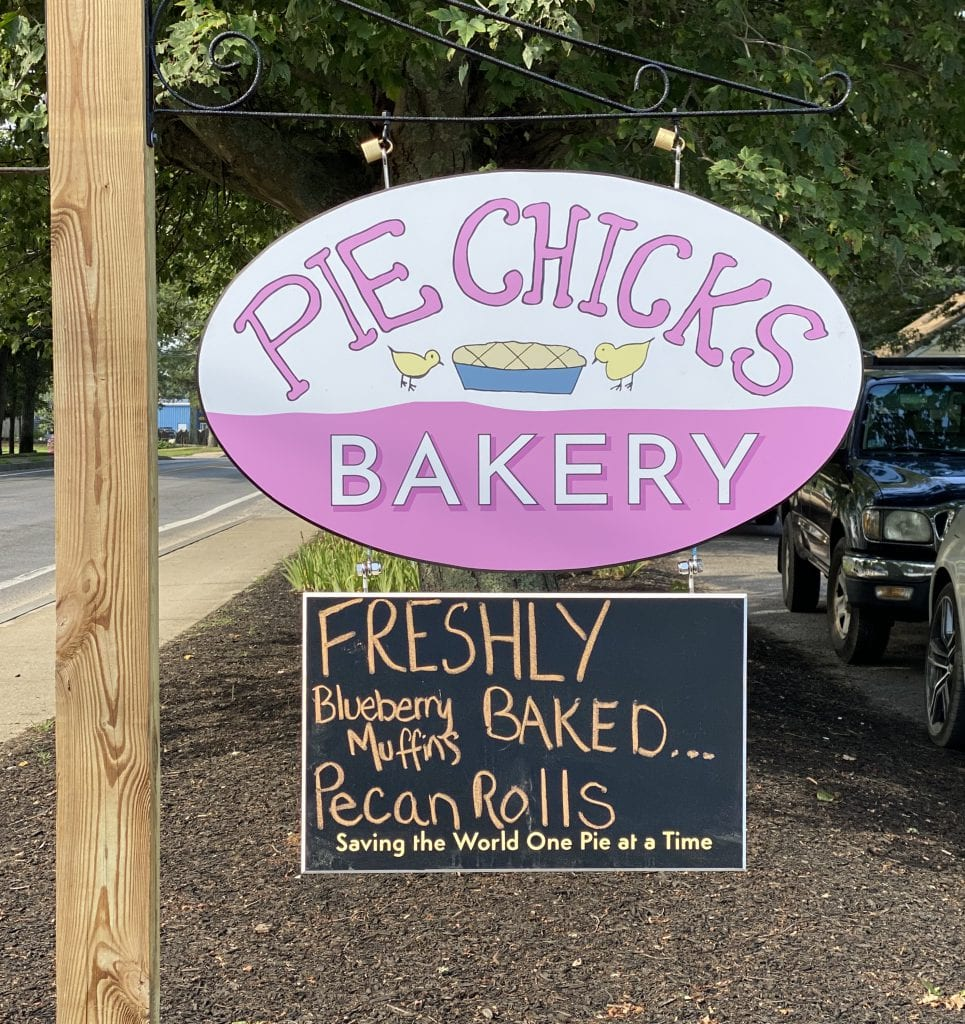 WE LOVE MV: Pie Chicks Opens Its Bakery In Vineyard Haven Pies And So Much More On Martha's Vineyard
