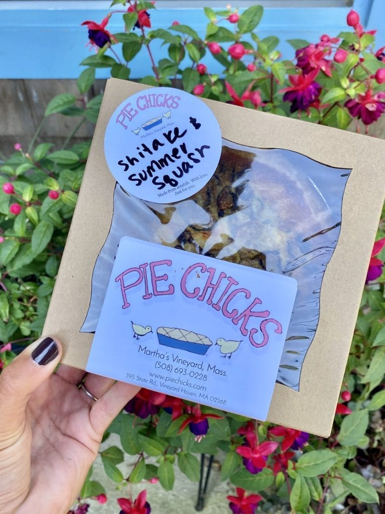 Pie Chicks Bakery Vineyard Haven Marthas Vineyard Summer 2020