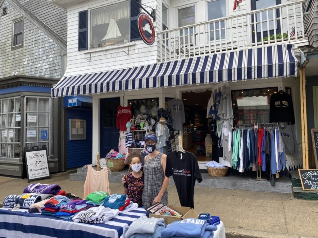 Celebrating Black History Month On Martha's Vineyard: Black-Owned Business C'Est La Vie Owners Roger & Jennifer Schilling Black History Month Martha's Vineyard