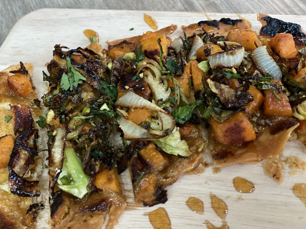 The Pawnee House flatbread is a game-changer Martha's Vineyard Dining Out