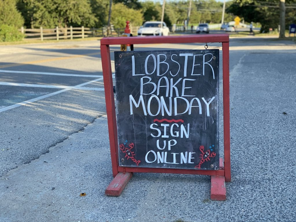 WE LOVE MV: Lobster Bake At The Katama General Store Lobster Bake Monday A New Summer Tradition On Martha's Vineyard
