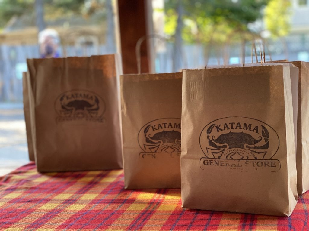 WE LOVE MV: Lobster Bake At The Katama General Store - How It Works - Your Lobster Dinner With Clams Corn And All The Fixins Is Ready To Go