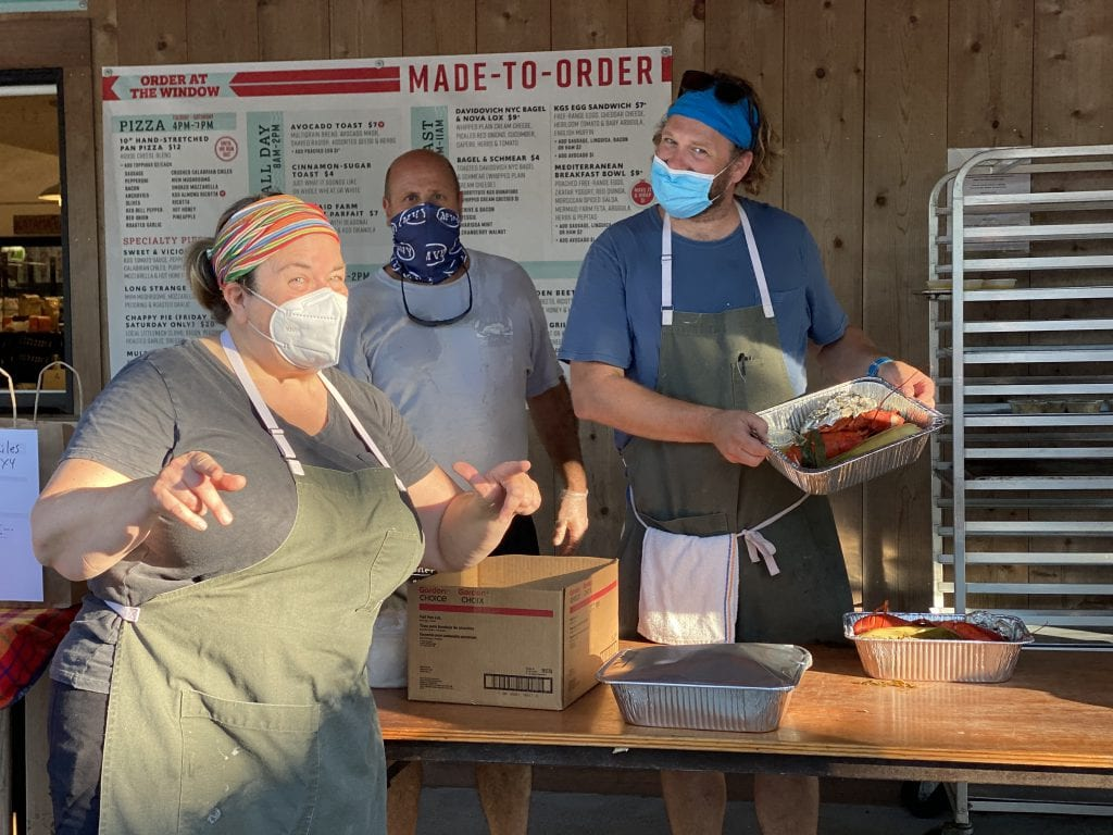 The Lobster Bake Crew At The Katama General Store Monday Night Lobster Bake