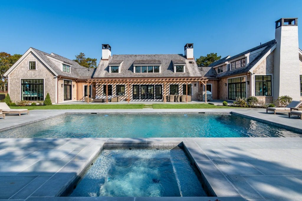 Martha's Vineyard Vacation Rentals Oak Bluffs Architect Designed Luxury Compound With Pool And Pool House