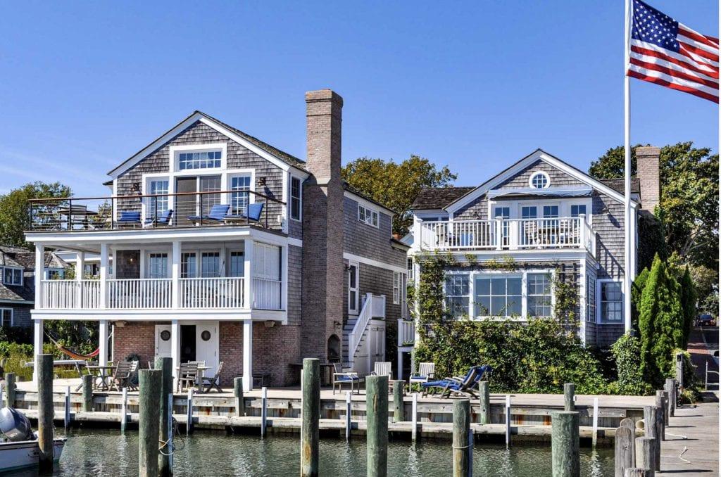 Martha's Vineyard Vacation Rentals Waterfront Luxury Home On Edgartown Harbor
