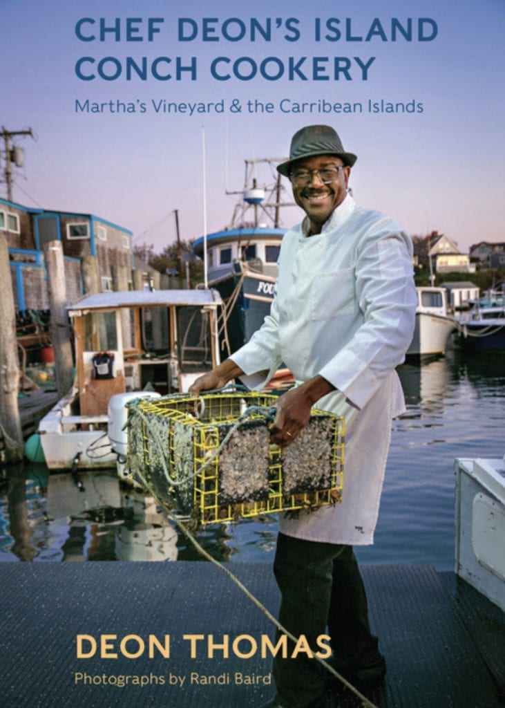 Celebrating Black History Month On Martha's Vineyard: Chef Deon Thomas Black History Month Martha's Vineyard #Black History MV