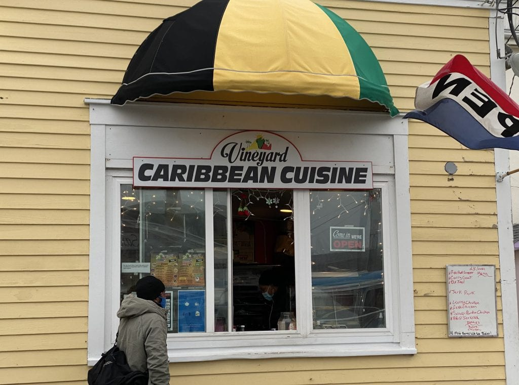 Celebrating Black History Month On Martha's Vineyard: Vineyard Caribbean Cuisine Oak Bluffs Black-Owned Restaurant Black History Month Martha's Vineyard