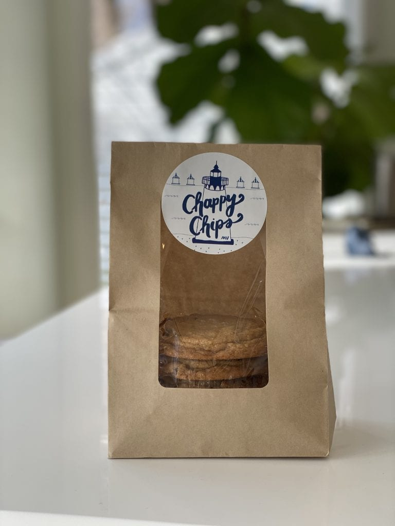 Chappy Chips Made on Martha's Vineyard Chocolate Chip Cookies Small Batch  Hand Made WE LOVE MV