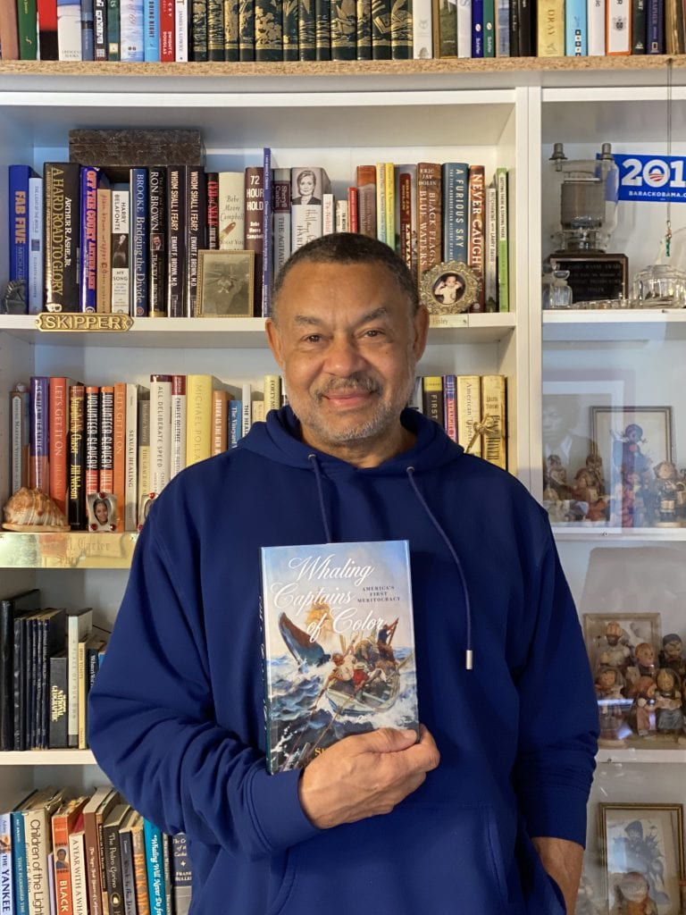 Black History MV: Author, Historian, Speaker Skip Finley - His Most Recent Book is Whaling Captains Of Color