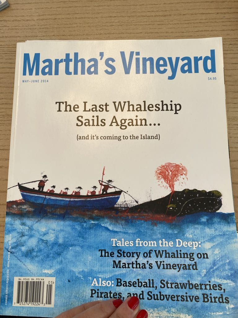 Black History MV: Author, Historian, Speaker Skip Finley - The Martha's Vineyard Magazine issue that introduced Skip to Captain William A. Martin