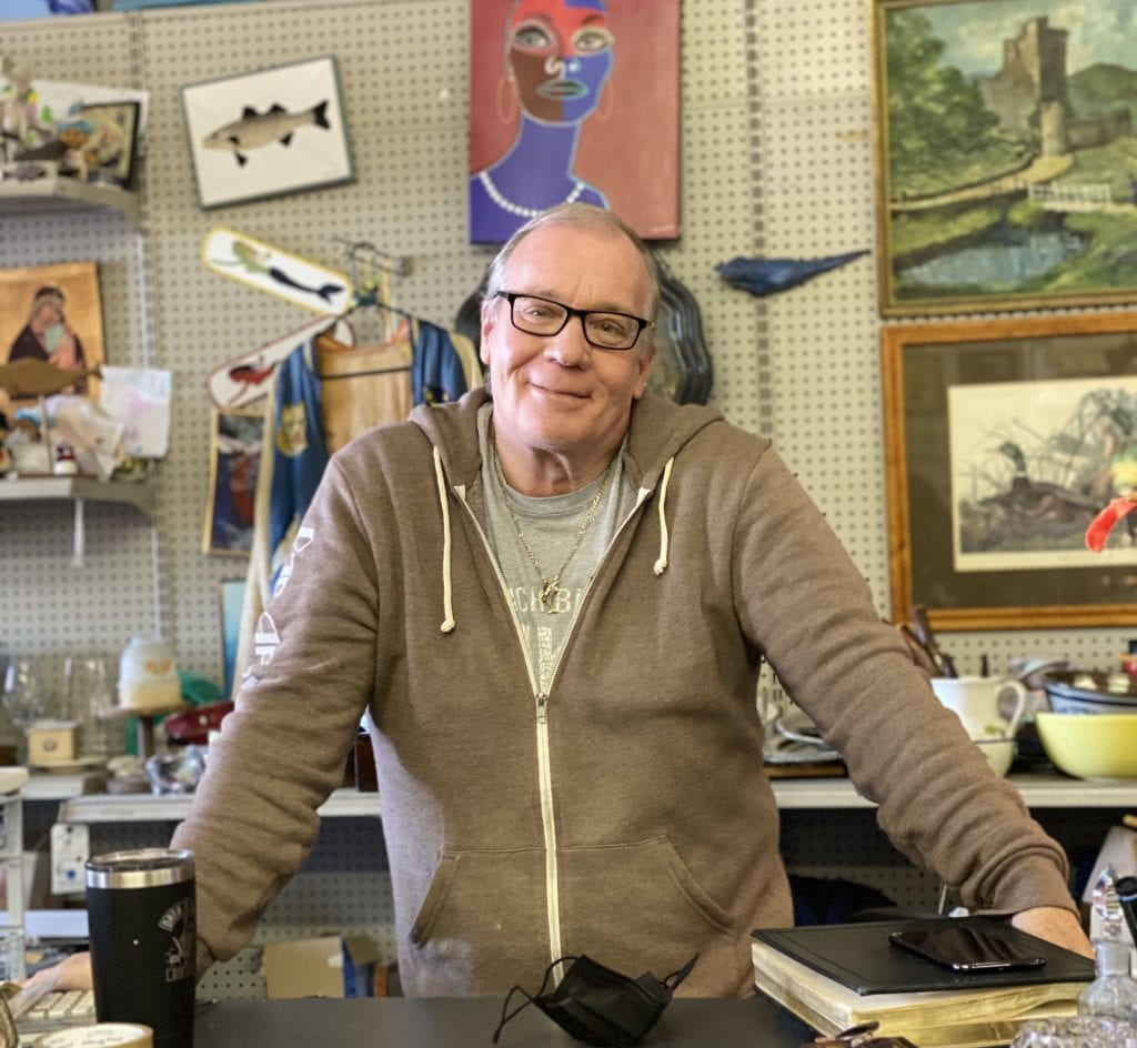 WE LOVE MV: Second Treasures MV Discovering History For Your Home In Vineyard Haven Owner John Hill In His One Of A Kind Store