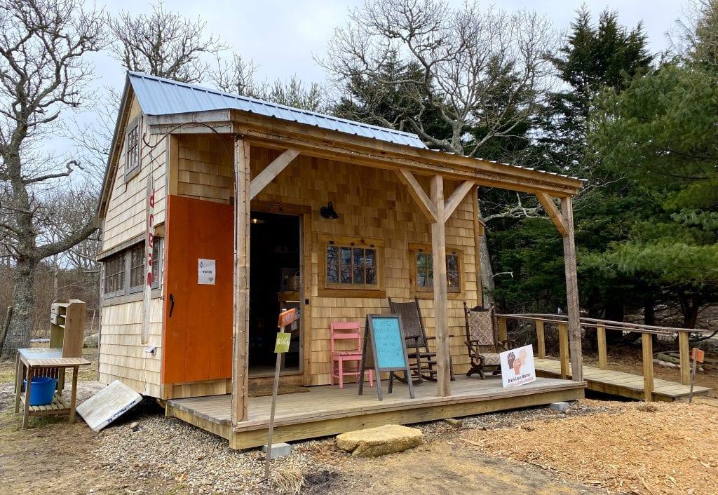 WE LOVE MV: North Tabor Farm's New Farm Stand Has More To Offer Chilmark Farms Martha's Vineyard