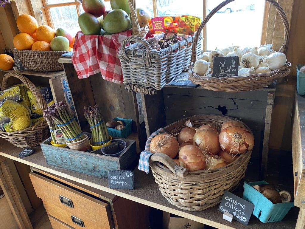 WE LOVE MV: North Tabor Farm's New Farm Stand Has More To Offer Organic Vegetables At North Tabor