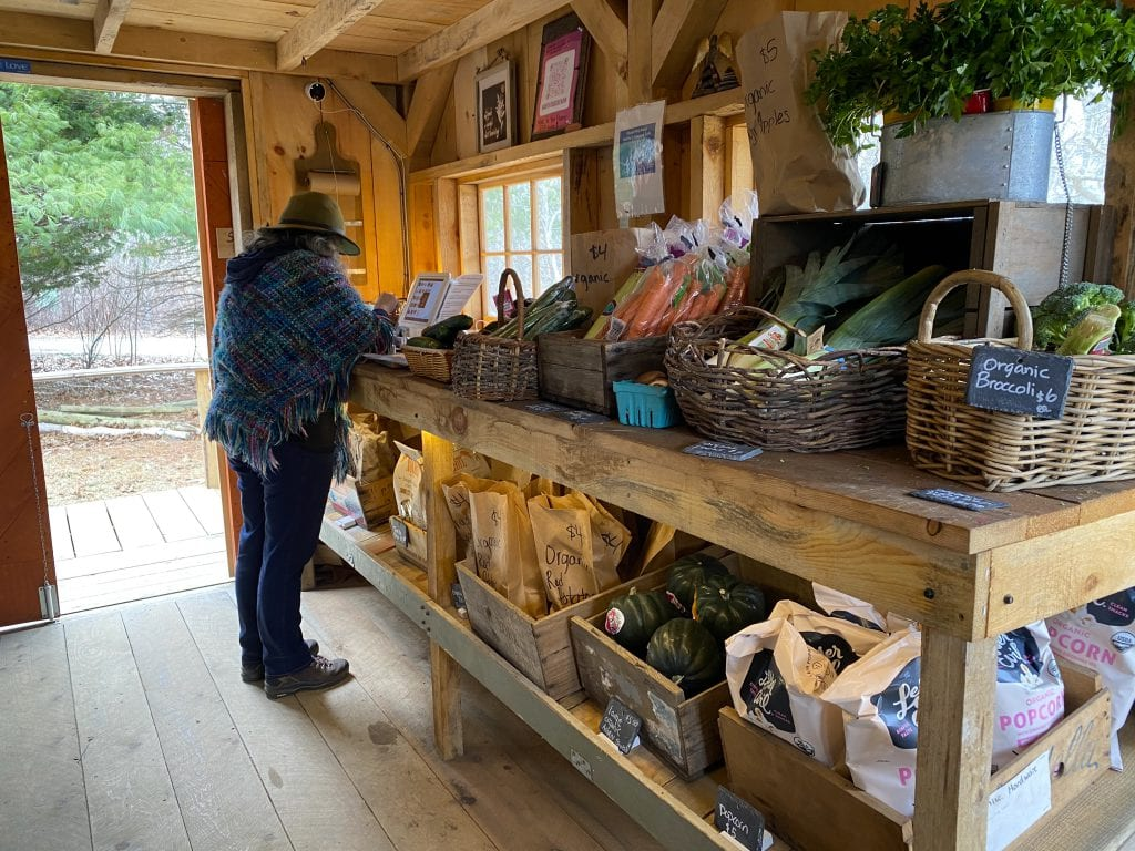 WE LOVE MV: North Tabor Farm's New Farm Stand Has More To Offer Including Credit Cards At The Chilmark Farm Martha's Vineyard