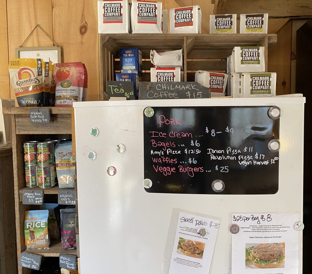 WE LOVE MV: North Tabor Farm's New Farm Stand Has More To Offer - Meats, Ice Cream, Bagels Even Chilmark Coffee
