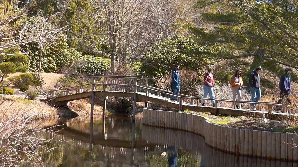 Martha's Vineyard Bucket List: Chappy Adventure - Visitors Walking Through The Gardens At Mytoi