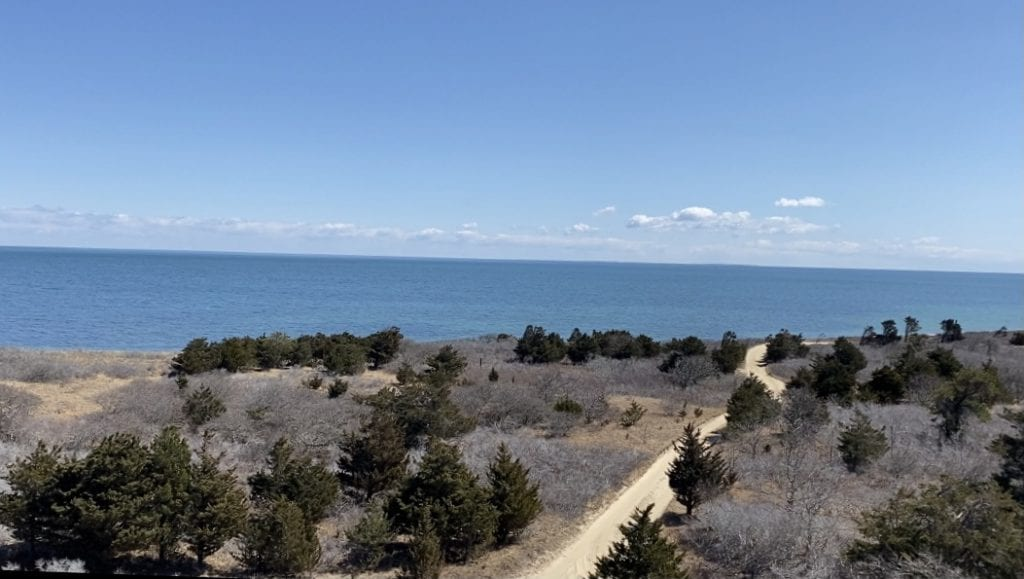 Martha's Vineyard Bucket List: Chappy Adventure Views to Nantucket from Cape Poge Lighthouse