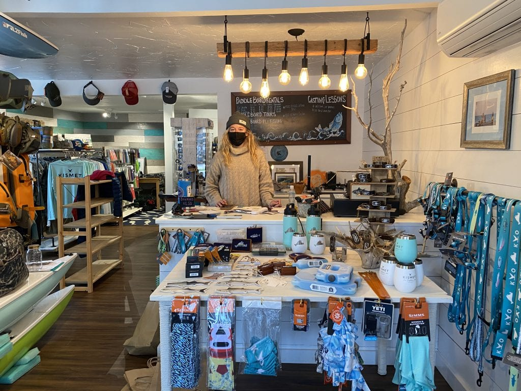 Fishing On Martha's Vineyard With Kismet Outfitters - Fly Fishing on The Vineyard Inside The Edgartown Shop