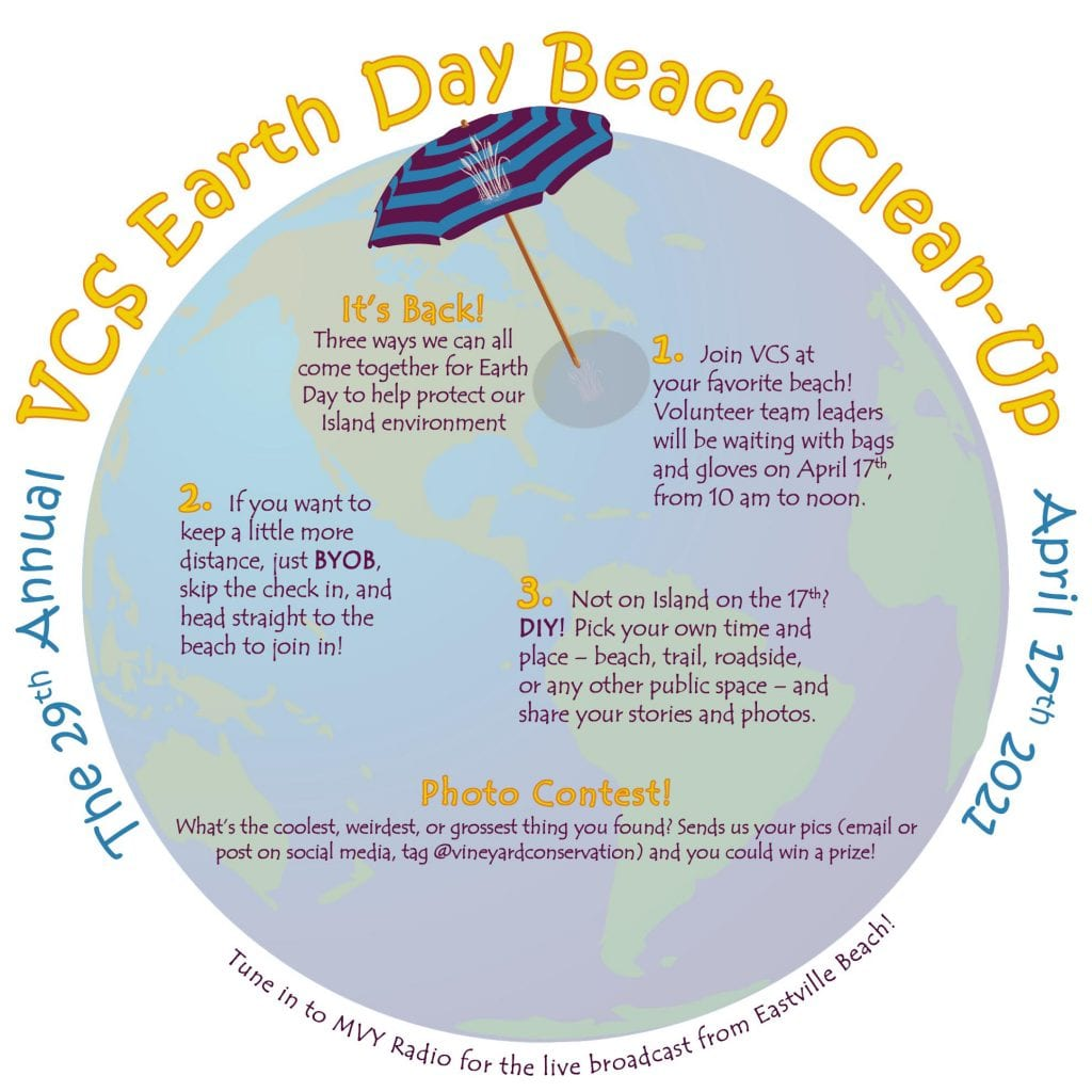 Earth Day Clean Up VCS Earth Day Clean-Up Martha's Vineyard  Vineyard Conservation Society