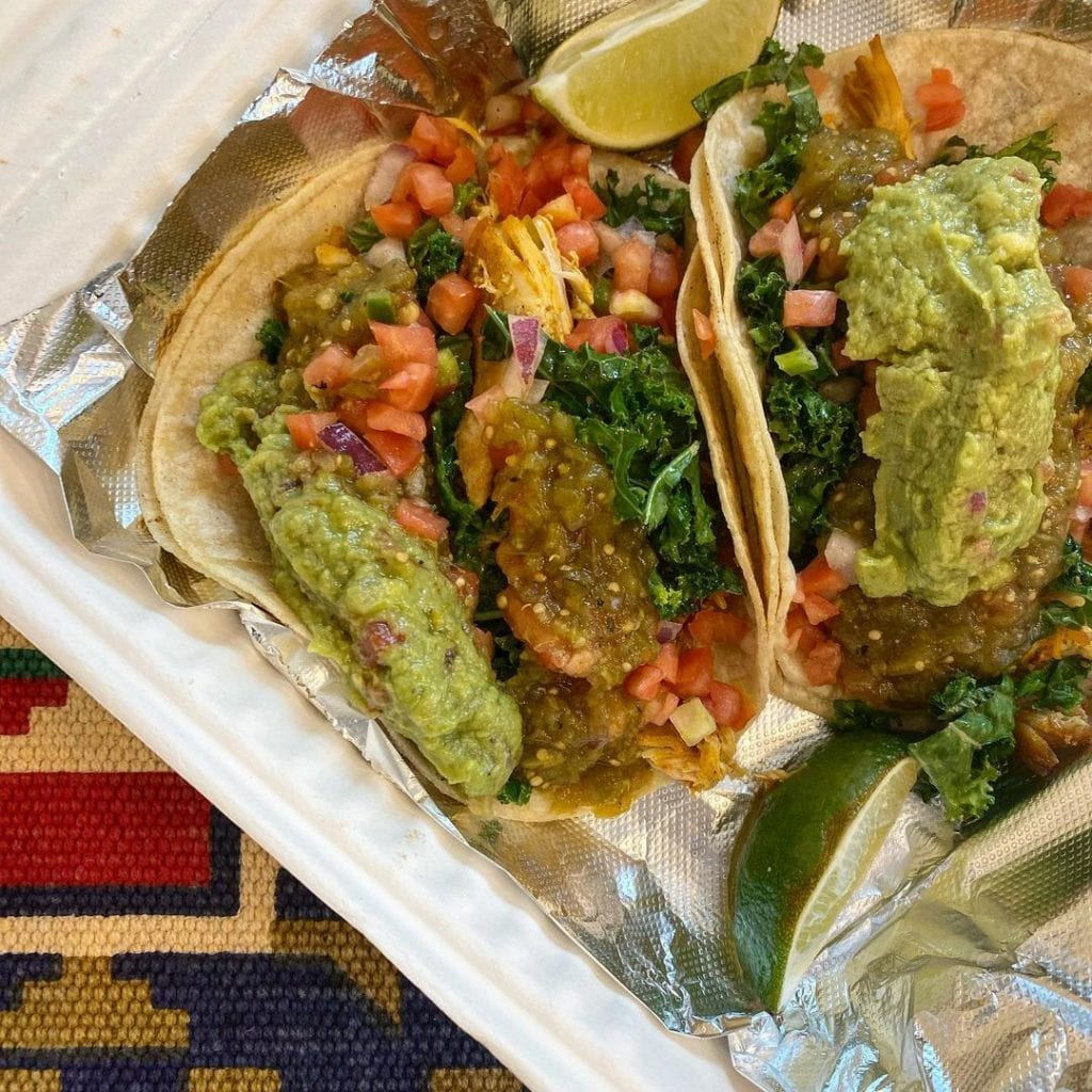 Loaded Tacos At Dilly's Taqueria Mexican Food Oak Bluffs Martha's Vineyard  Falmouth The Ritz