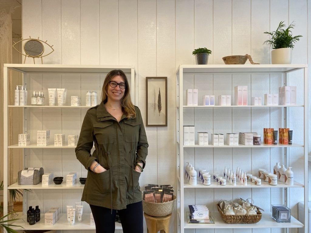 Clean Beauty at Botanical Beauty On Martha's Vineyard Owner Rachel Soknic Edgartown Boutique Spa