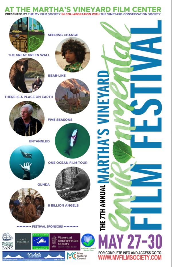 Martha's Vineyard  Memorial Day Weekend Point B Realty  Martha's Vineyard Film Society Environmental Film Festival