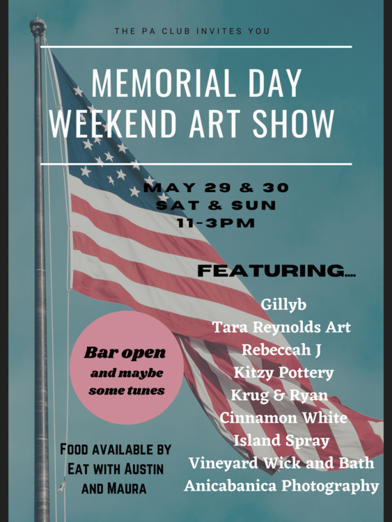 Martha's Vineyard  Memorial Day Weekend Point B Realty  Shop Local