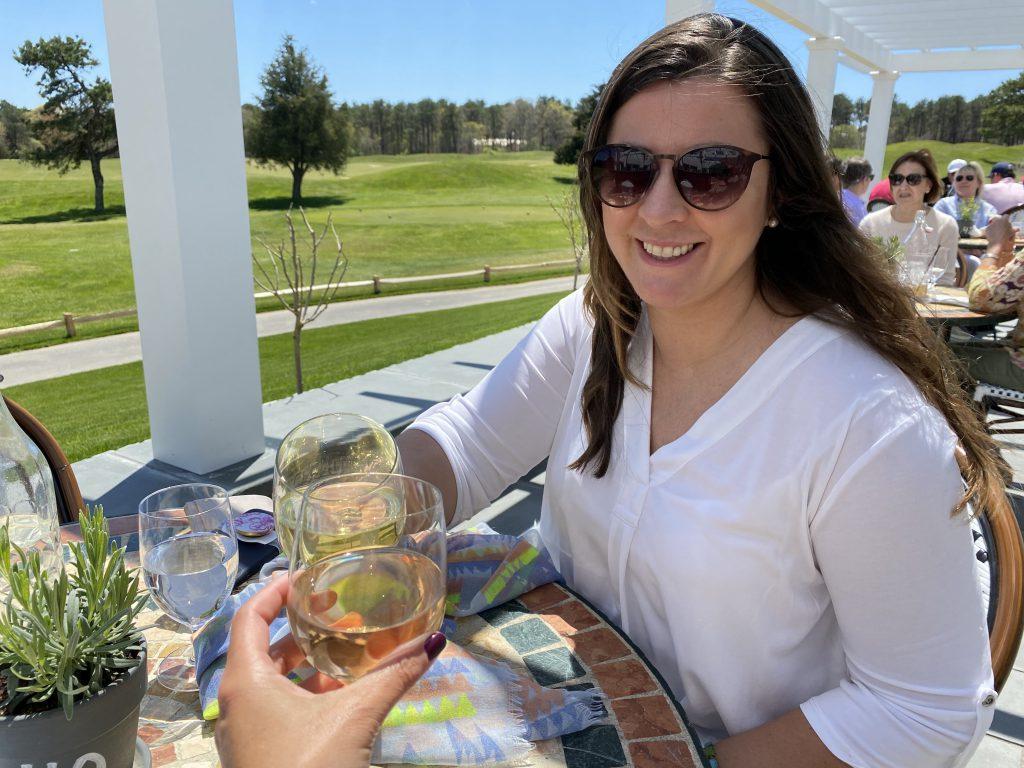 Farm Neck Cafe Farm Neck Golf  Oak Bluffs  Outdoor Dining Point B Realty