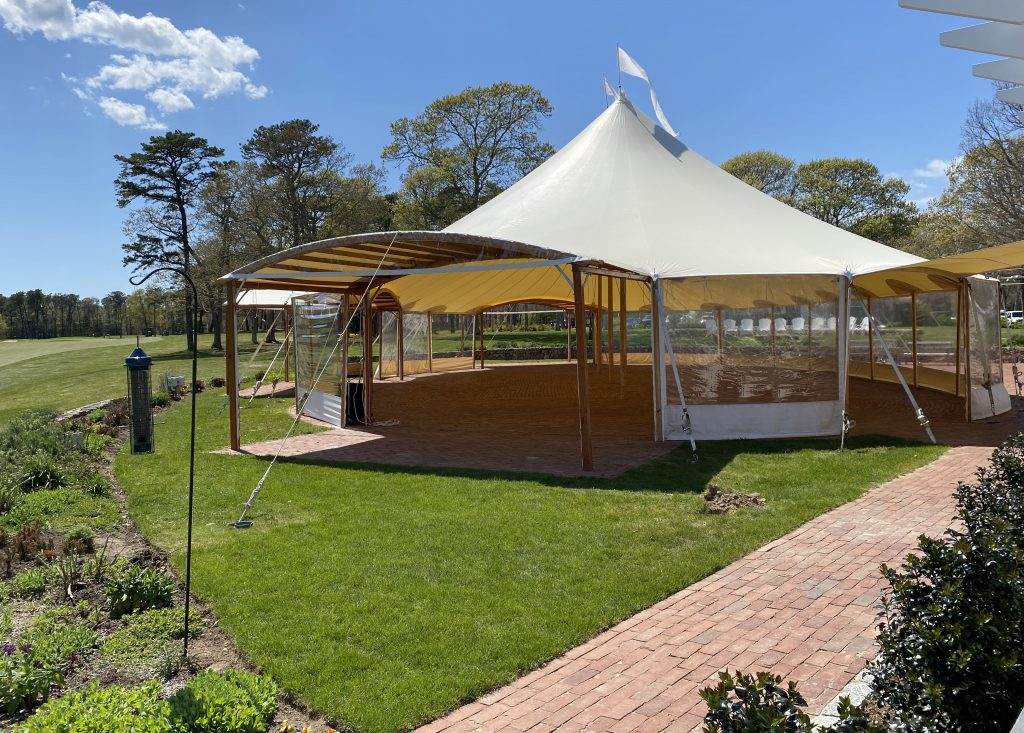Farm Neck Cafe Oak Bluffs  Outdoor Dining Point B Realty Martha's Vineyard  Events