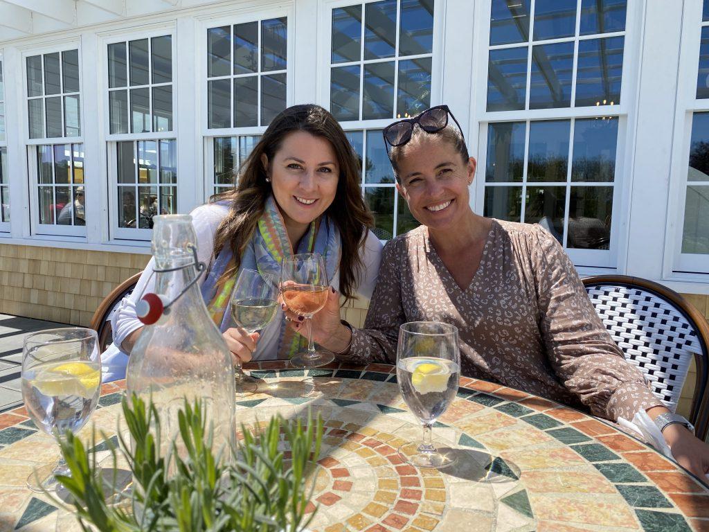 Farm Neck Cafe Oak Bluffs  Outdoor Dining Point B Realty Martha's Vineyard